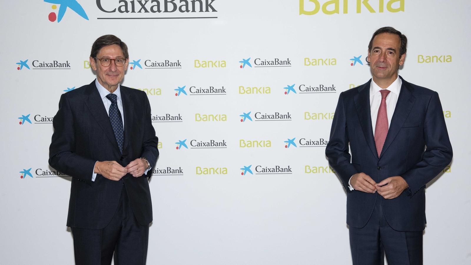 EN DIRECTE  | CaixaBank i Bankia expliquen els detalls de la seva fusió