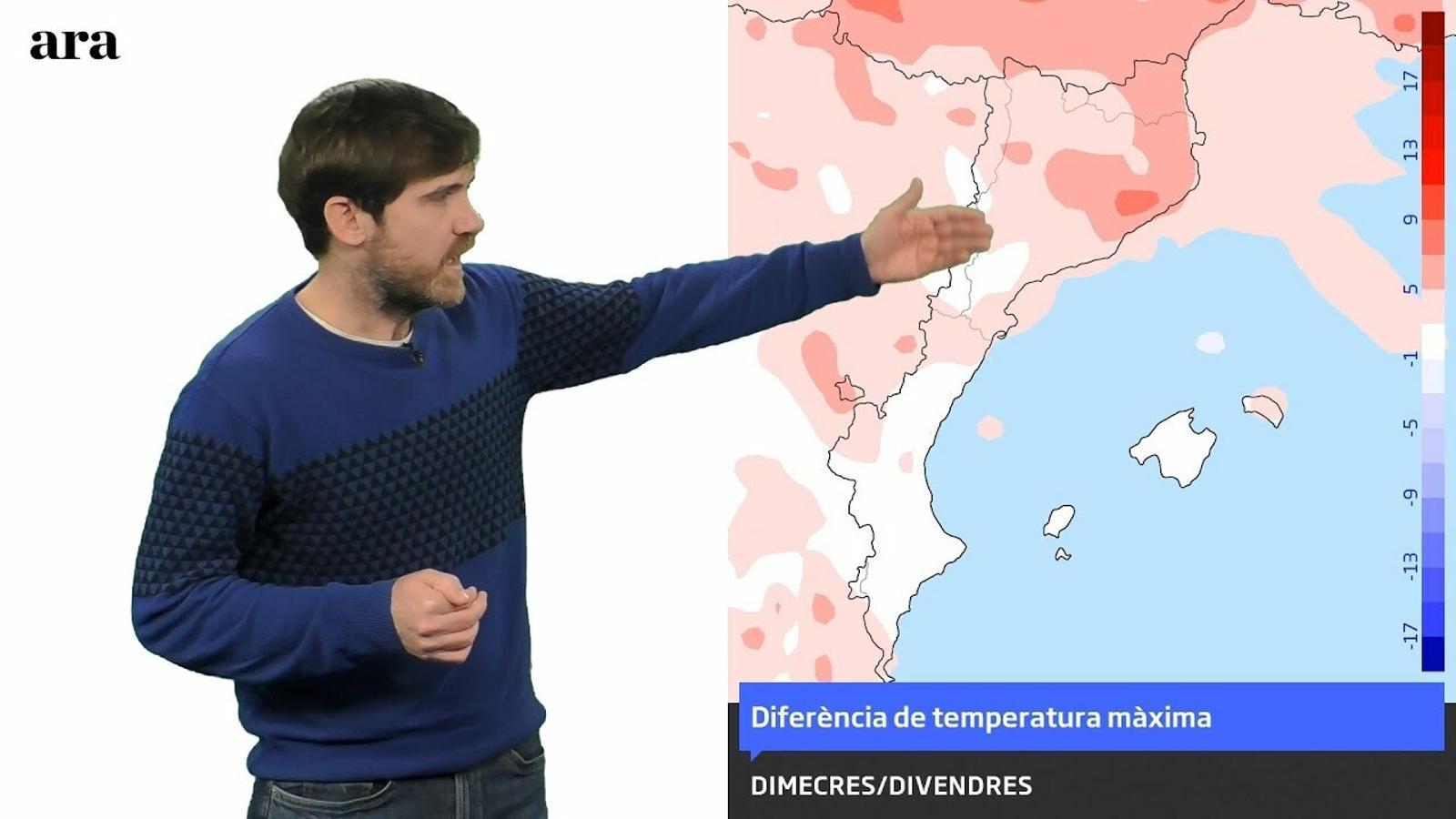 La méteo: la setmana acabarà amb més de 20 graus