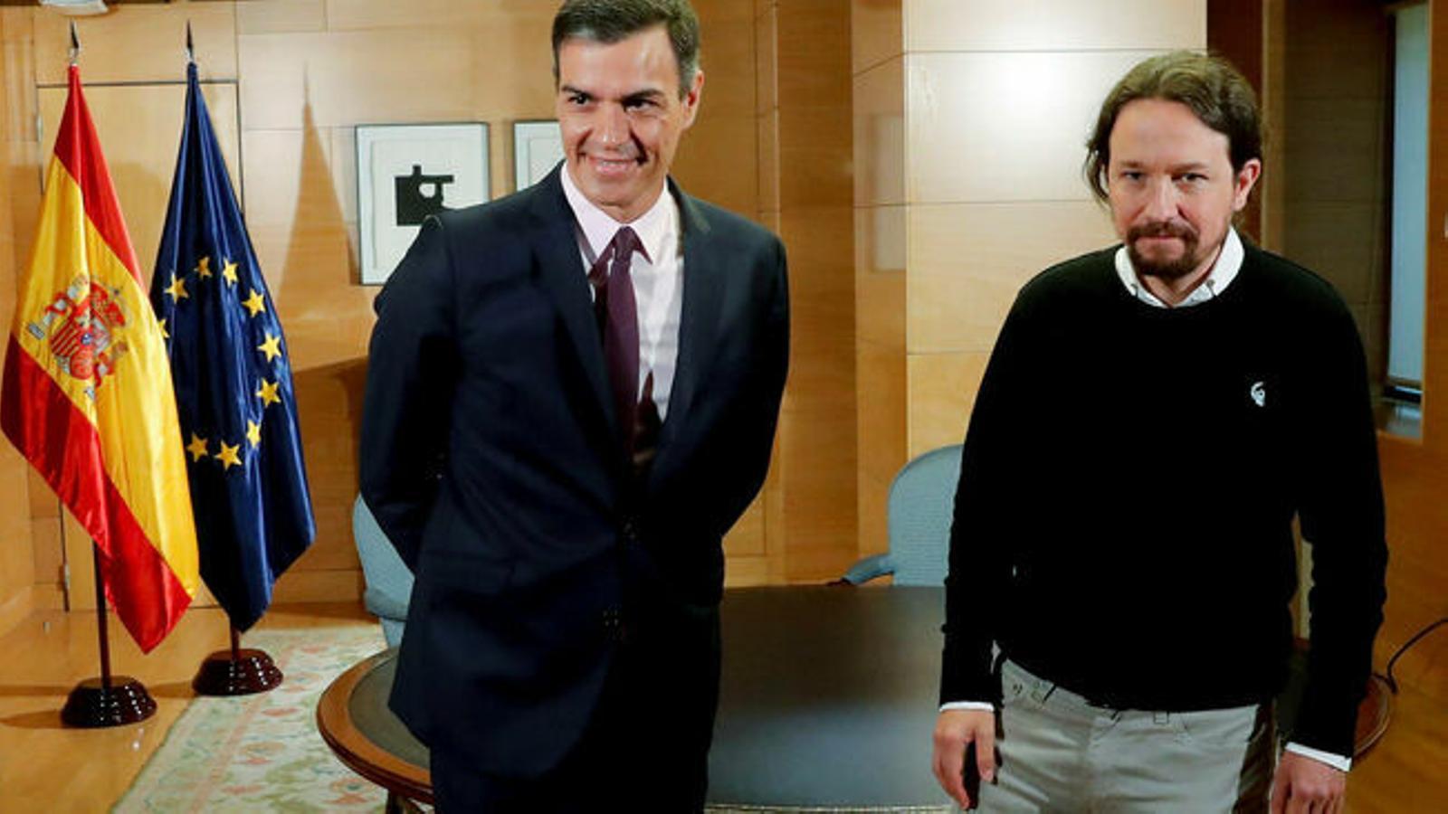 Podem envia una nova proposta al PSOE per reprendre la negociació per a un govern de coalició