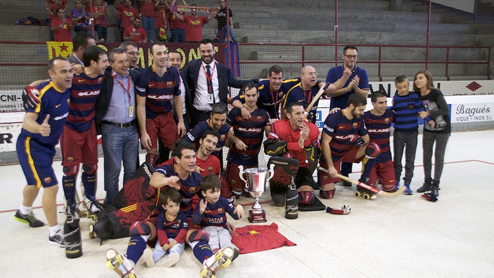 El Barça Lassa, campió / RFEP