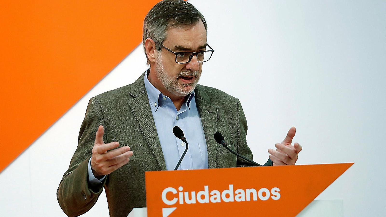 """Villegas insisteix a aplicar el 155: """"No cal esperar que es cometi l'assassinat per detenir l'assassí"""""""