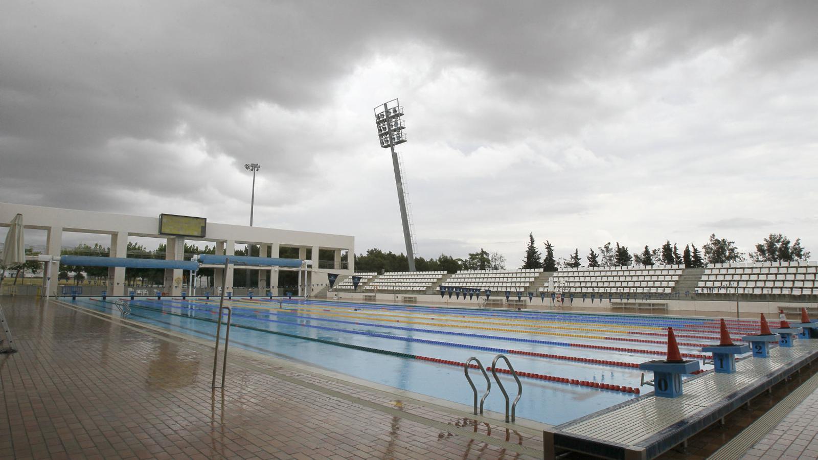 La piscina exterior de Son Hugo, tancada fins al 2019