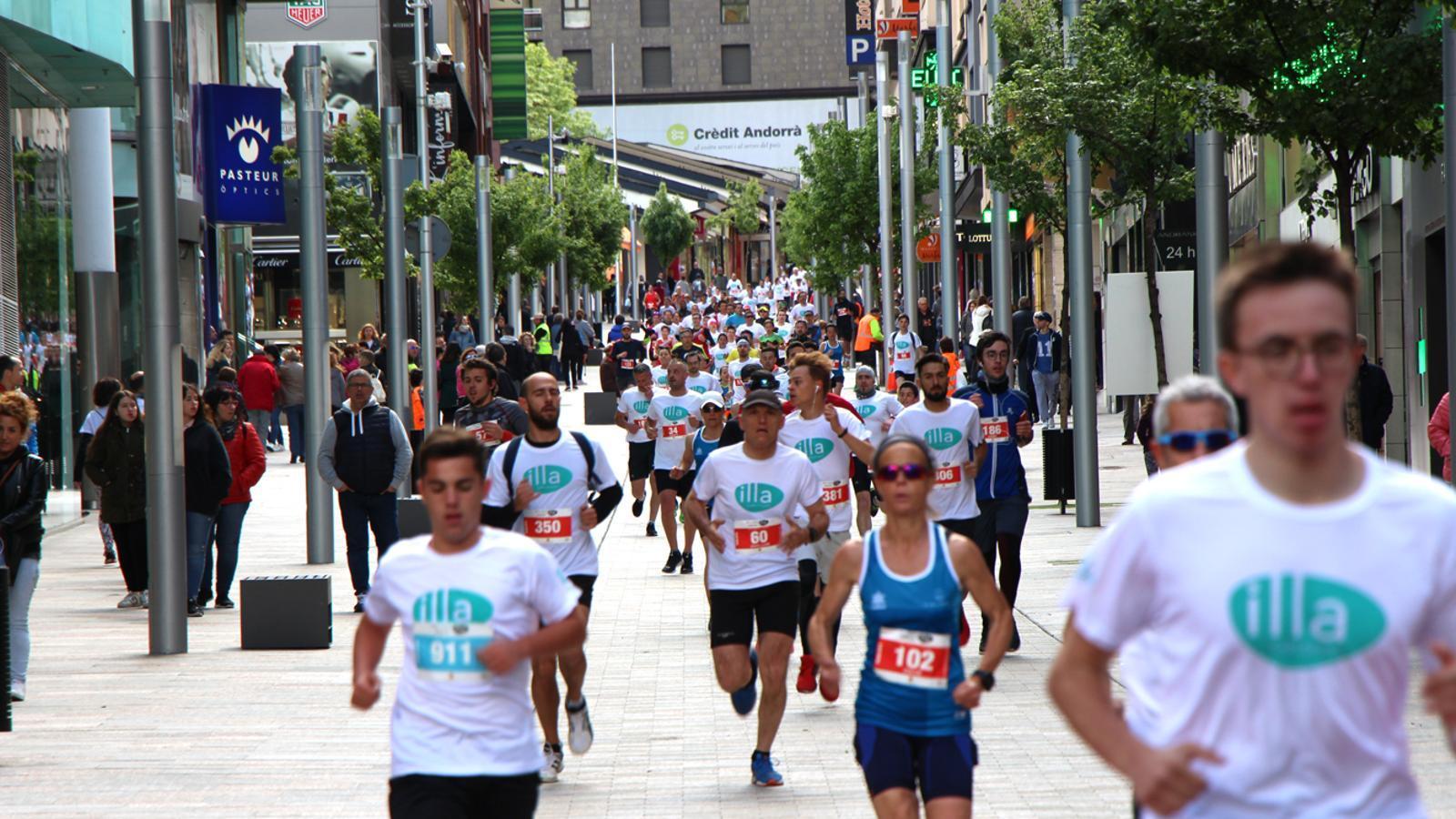 La cursa de cinc quilòmetres. / M. M. (ANA)