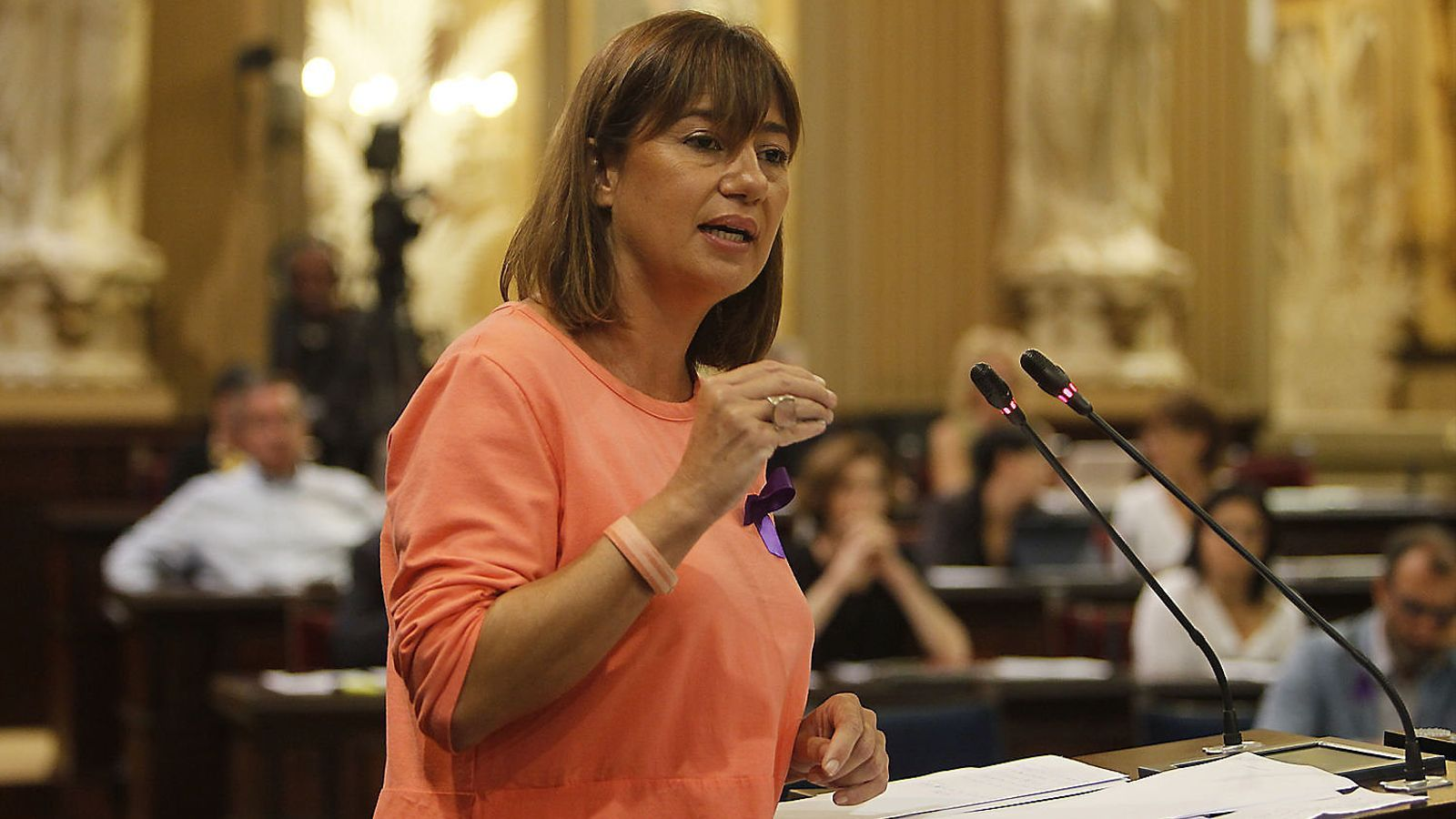 Armengol fa oficial el nomenament de Busquets com a vicepresidenta