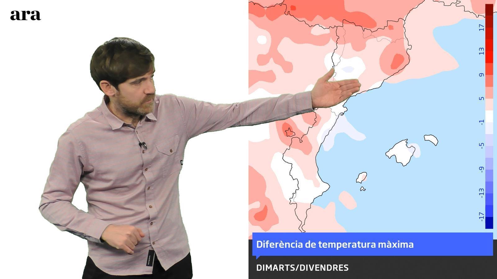 La méteo: segona part de la setmana amb temperatures de 20 graus