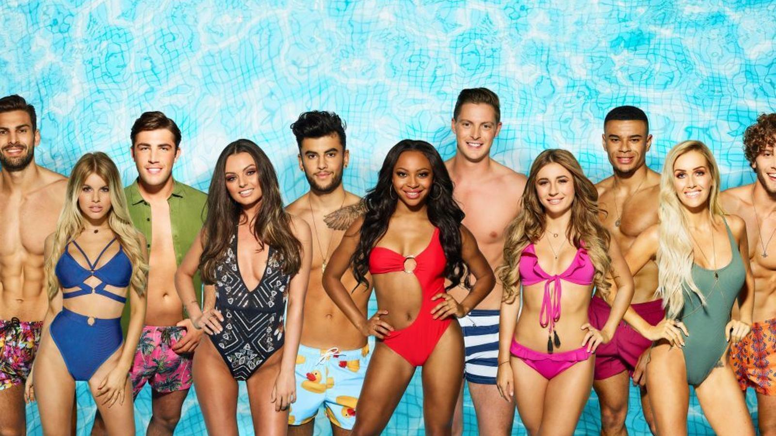 Alguns dels concursants de 'Love island'