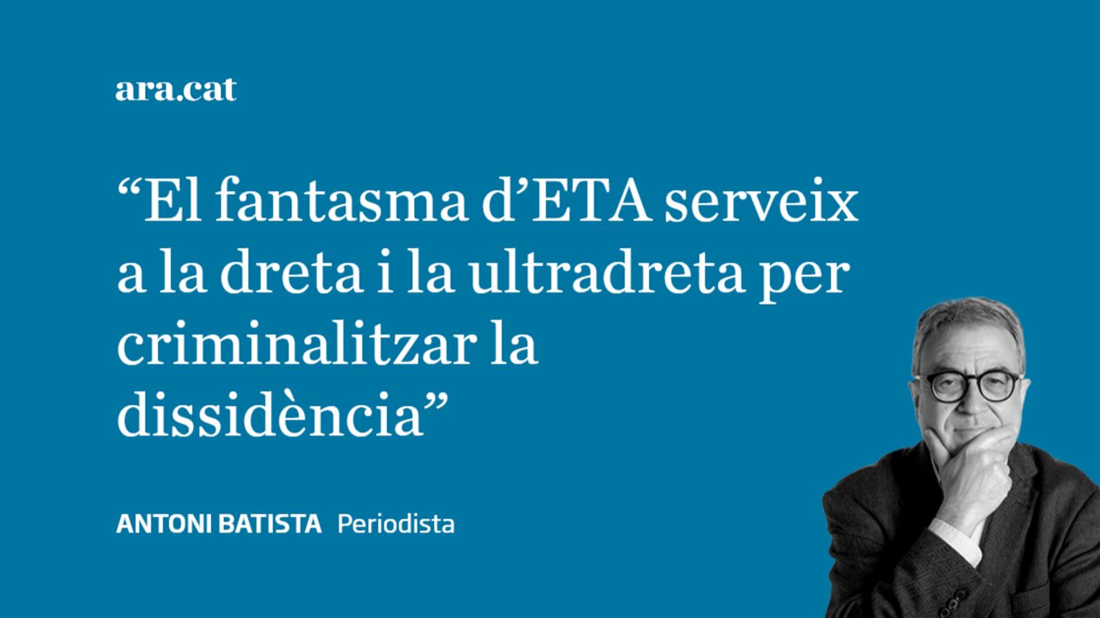 'Patria' i el fantasma d'ETA