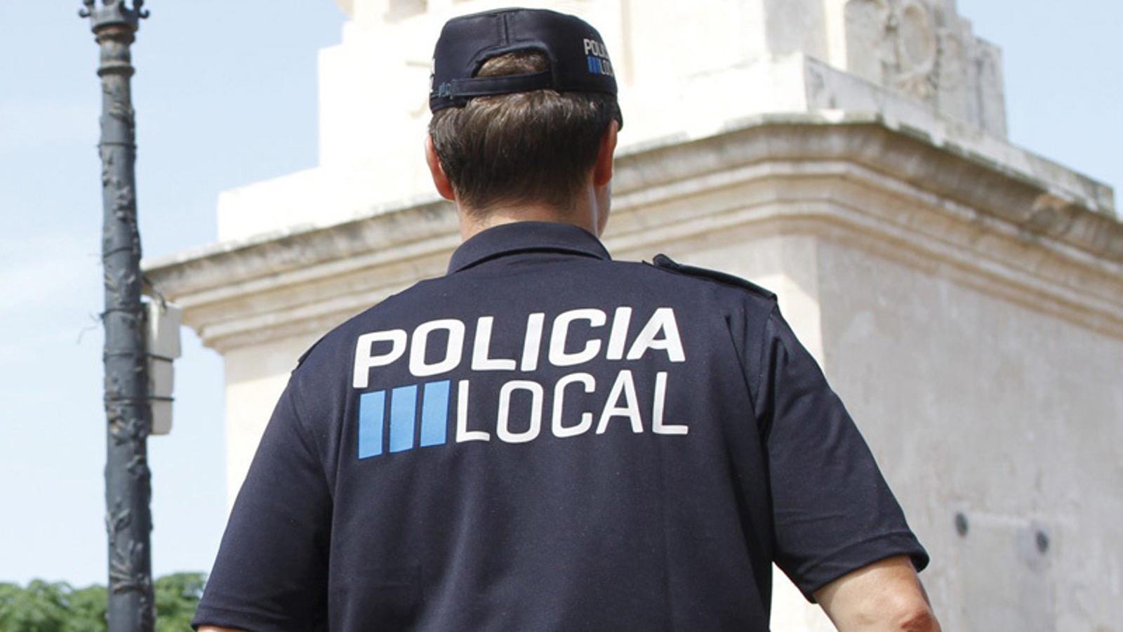 Un Policia Local de les Illes Balears.