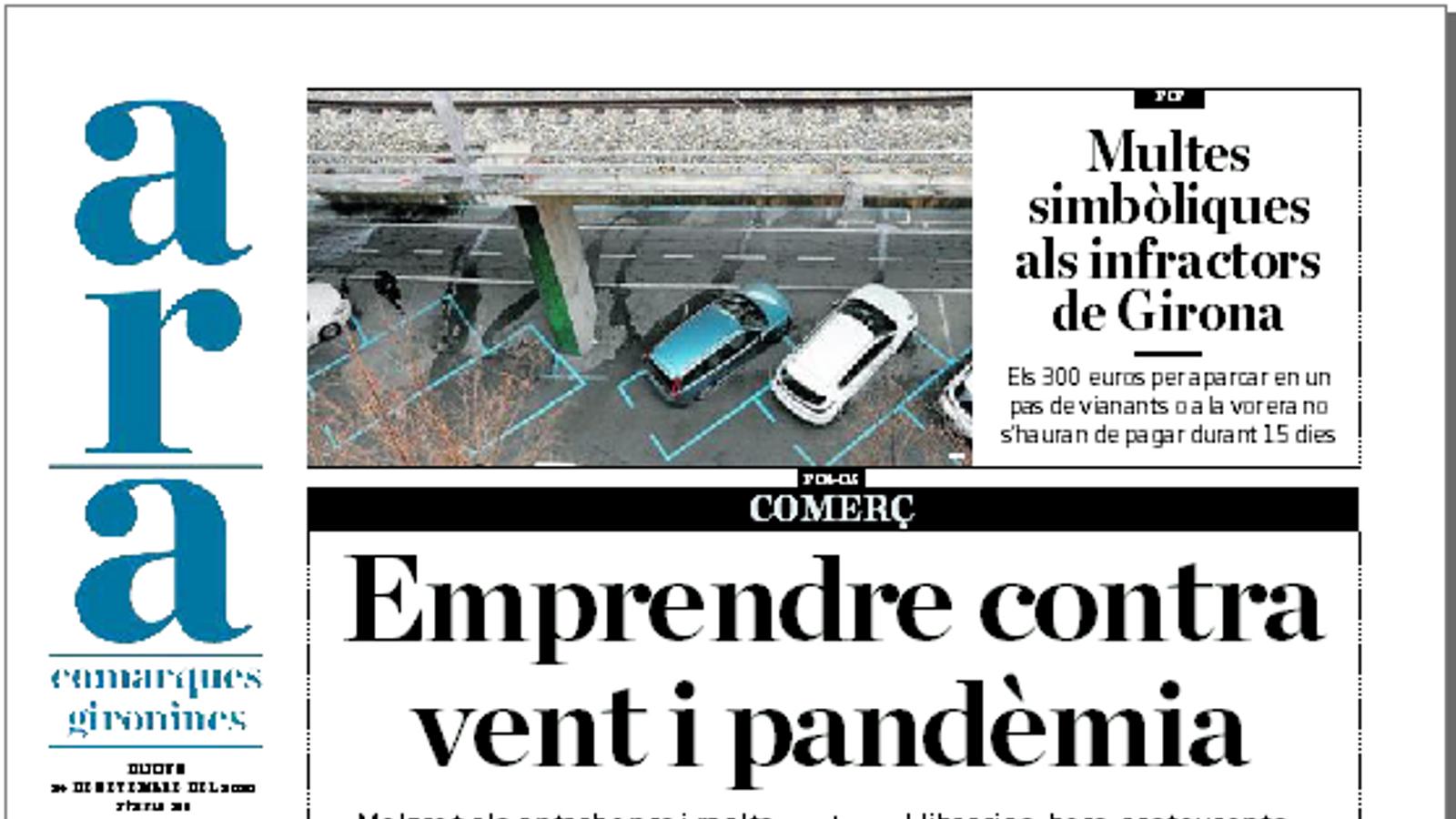 'ARA comarques gironines': Empendre contra vent i pandèmia