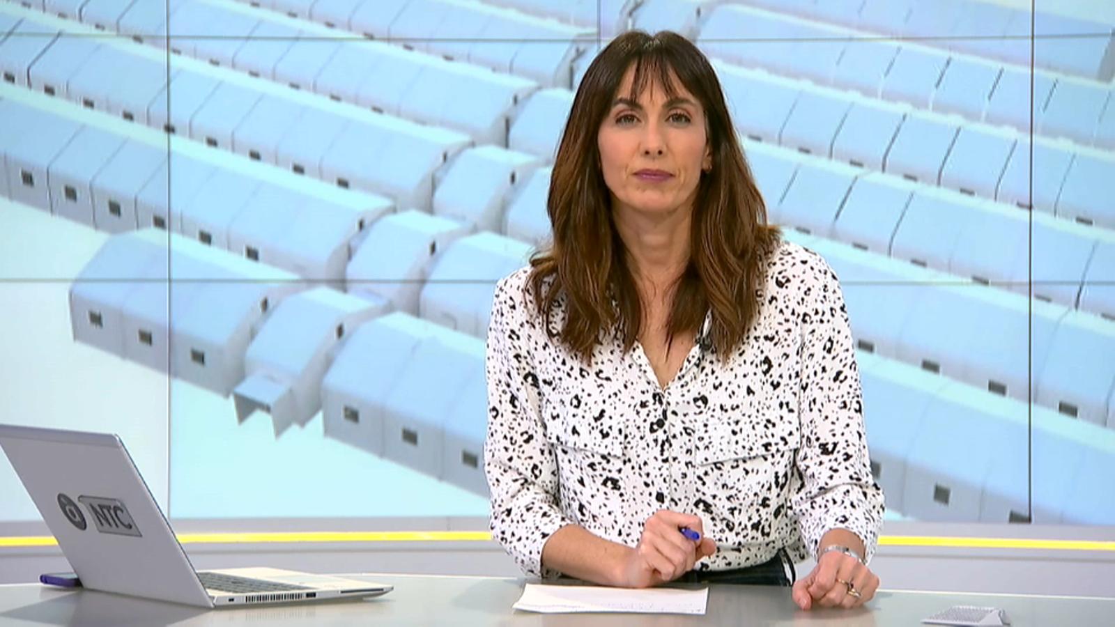 Victòria Maso, presentadora del NTC Migdia d'À Punt