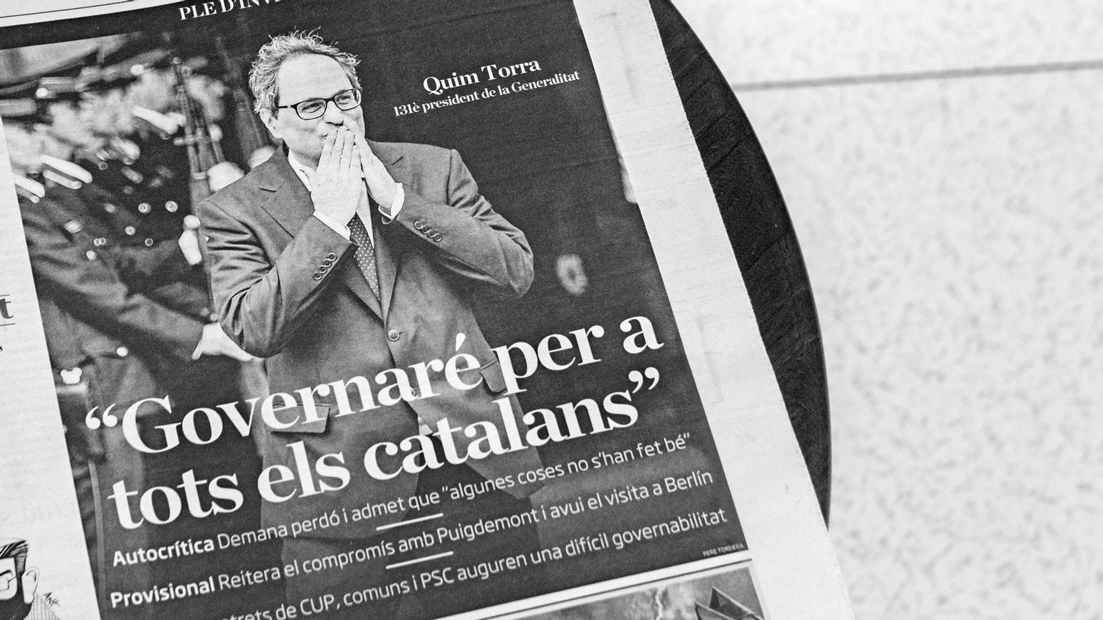 L'anàlisi d'Antoni Bassas: 'Torra, l'oposició i el debat sobre la identitat'