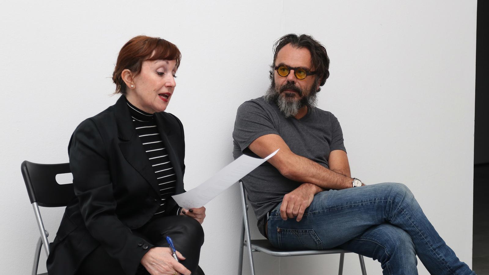 Bernardí Roig mostra per primera vegada els seus treballs audiovisuals