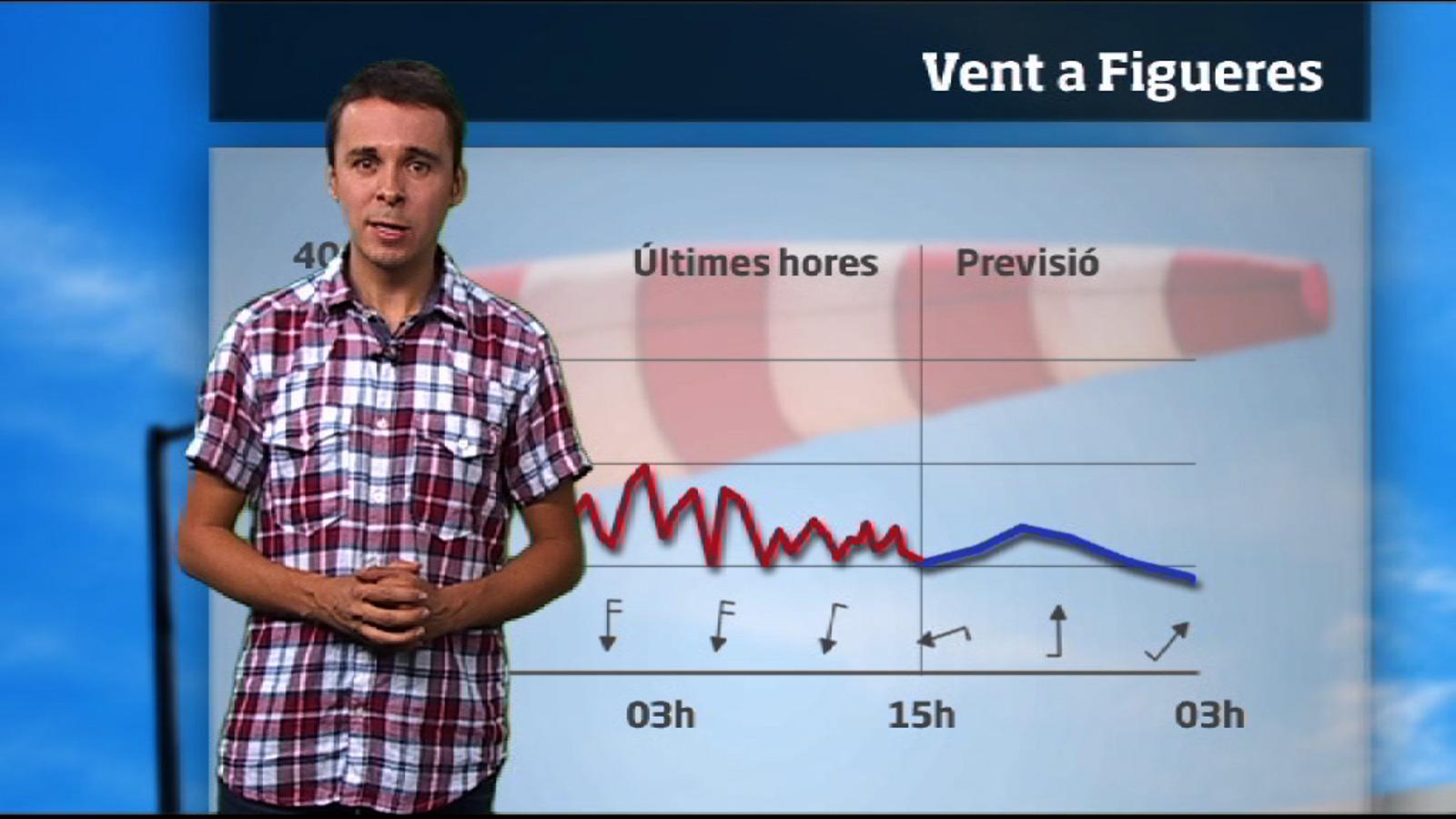 La méteo especial Empordà: dimarts no bufarà tramuntana (24/07/2012)