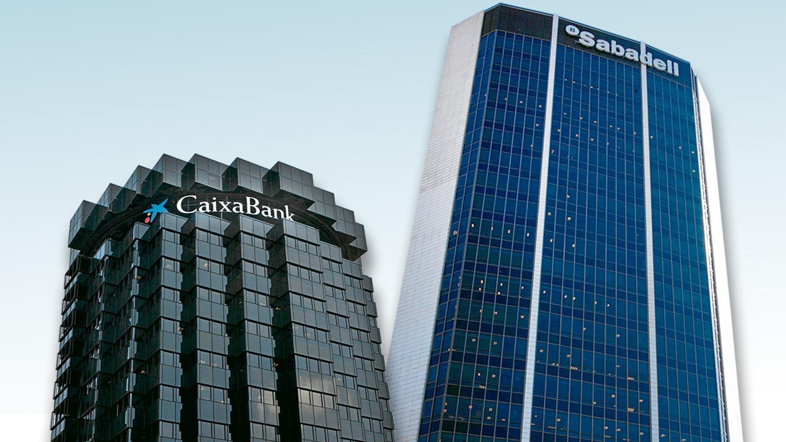 Los dos principales bancos catalanes sufrieron una fuga de depósitos multimillonaria