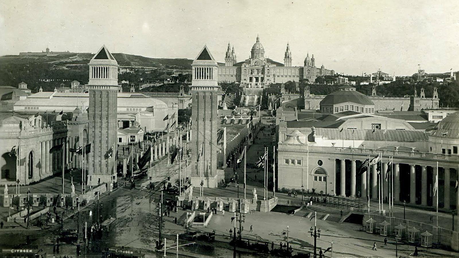 El Montjuïc somiat (i mai realitzat) de Puig i Cadafalch
