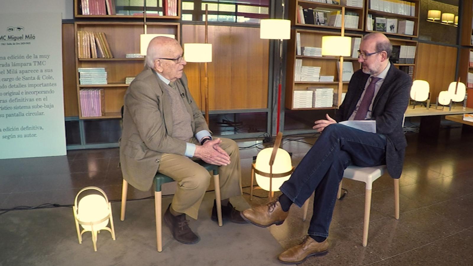 Entrevista d'Antoni Bassas a Miguel Milá