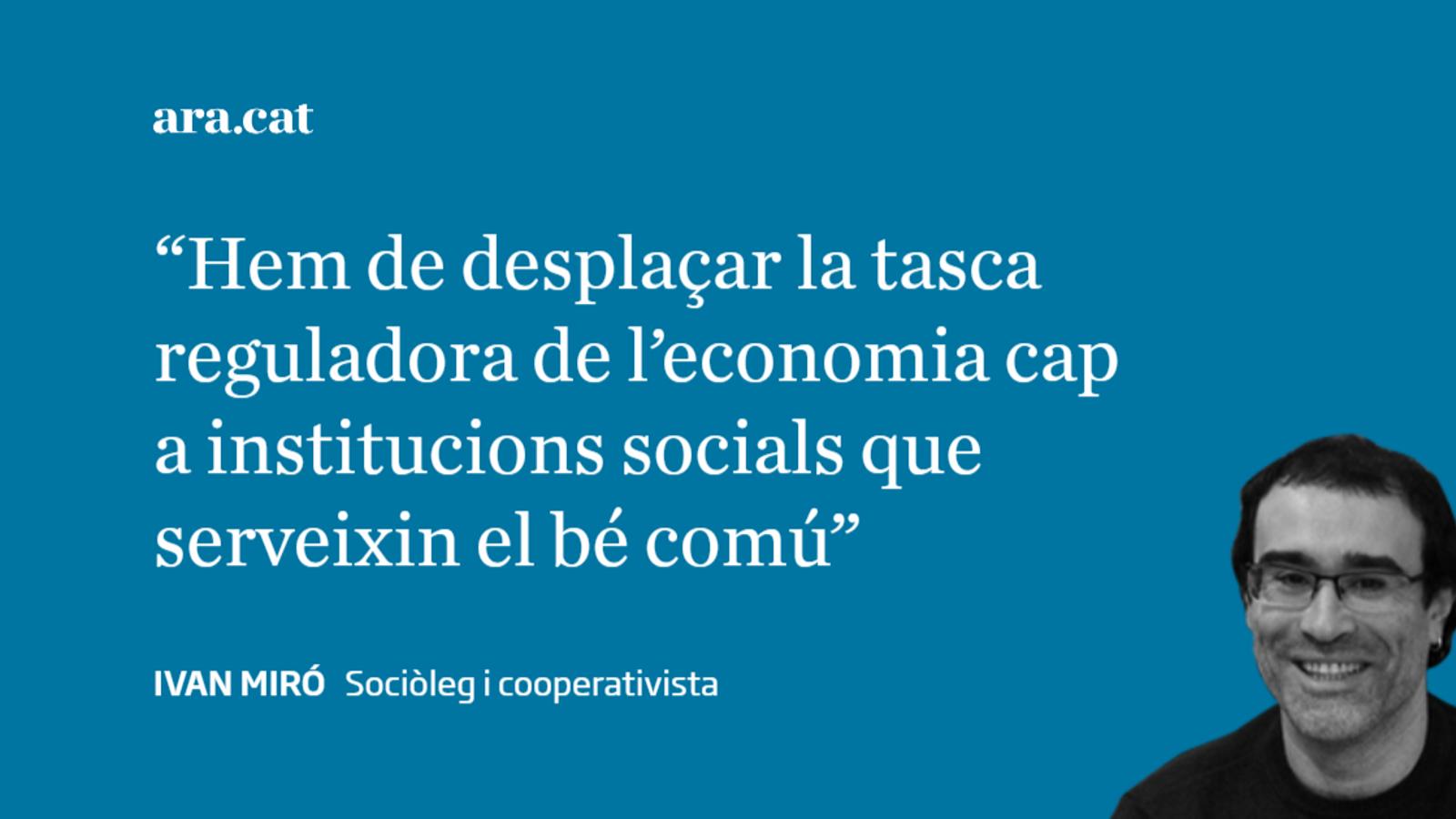 Catalunya: cap a la democràcia econòmica