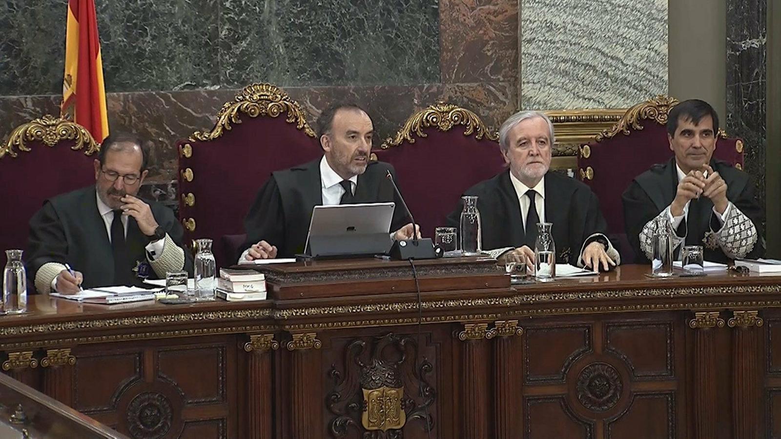 El president del tribunal del Suprem que jutja el Procés, Manuel Marchena.