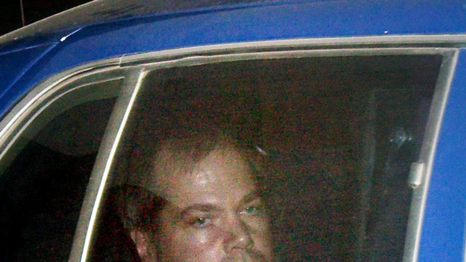 John Hinckley, l'any 2003, arribant als jutjats de Washington