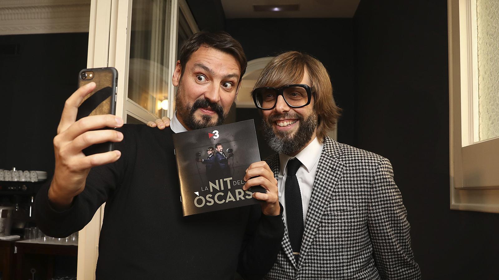 Òscar Andreu i Òscar Dalmau presentaran 'La nit dels Òscars', que s'estrena a TV3 aquest dijous