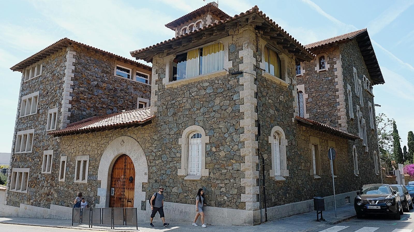 Mestra i alumnes eren de l'escola Canigó, de Barcelona