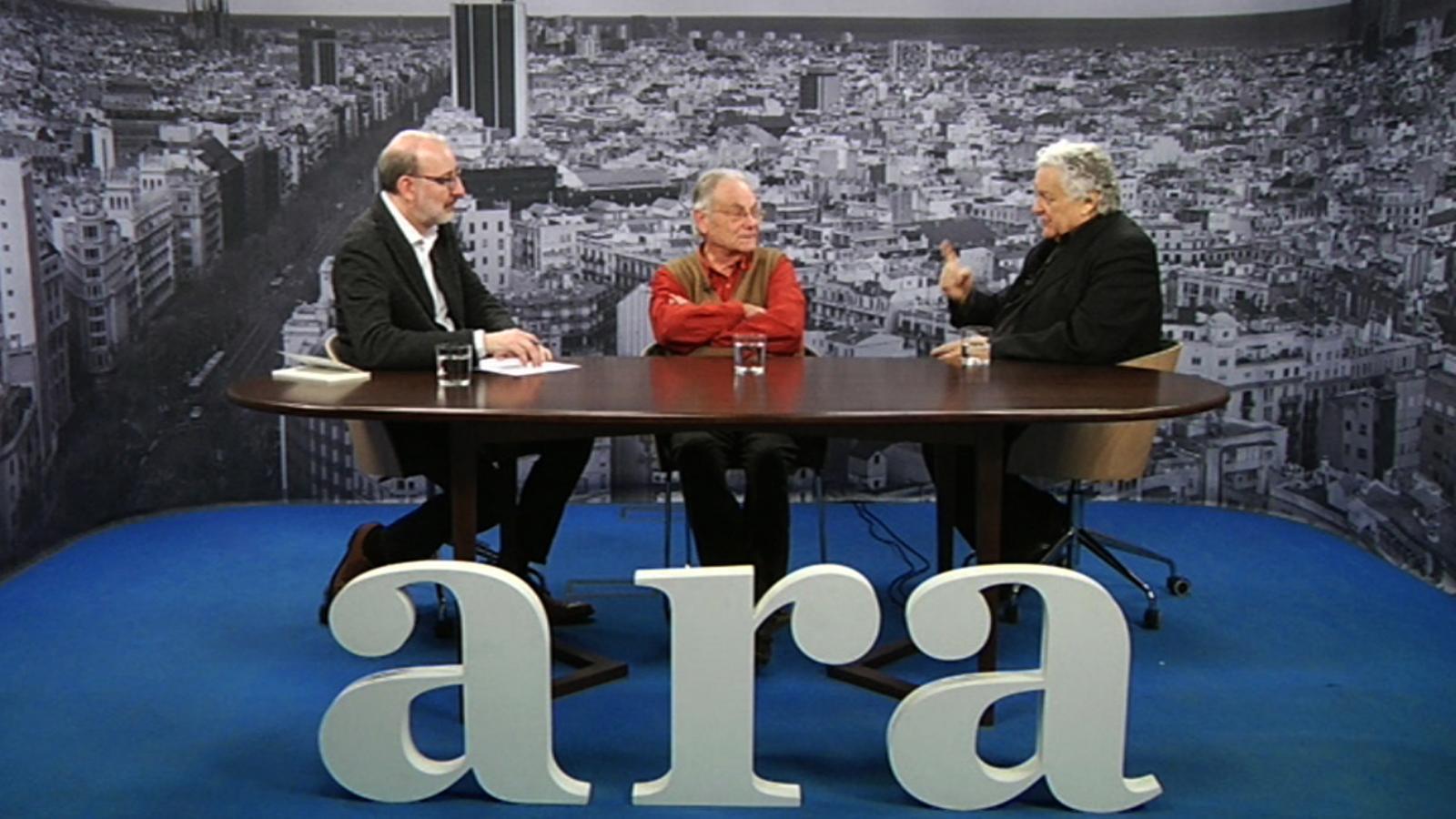 Entrevista d'Antoni Bassas a Joan Martínez Alier i Jorge Wagensberg
