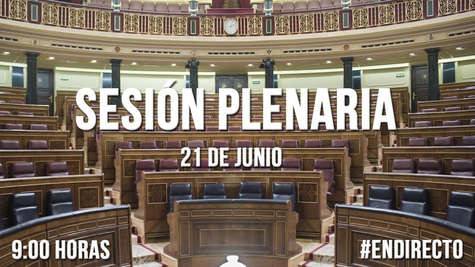 Sessió de control al govern espanyol