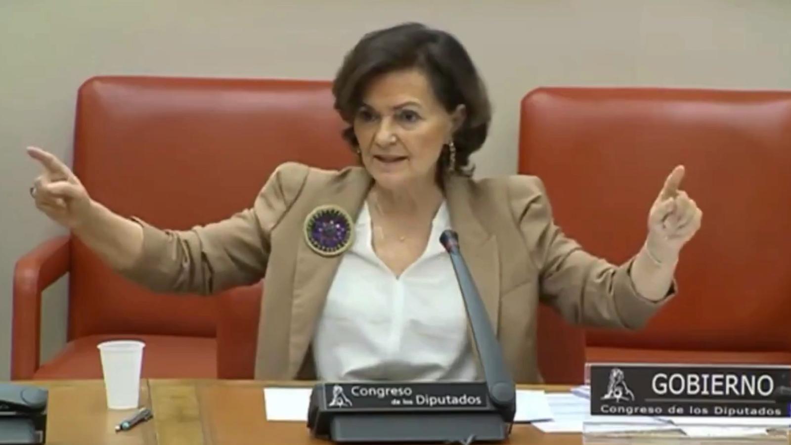 L'anàlisi d'Antoni Bassas: «Carmen Calvo i el 'problemón del demonio'»