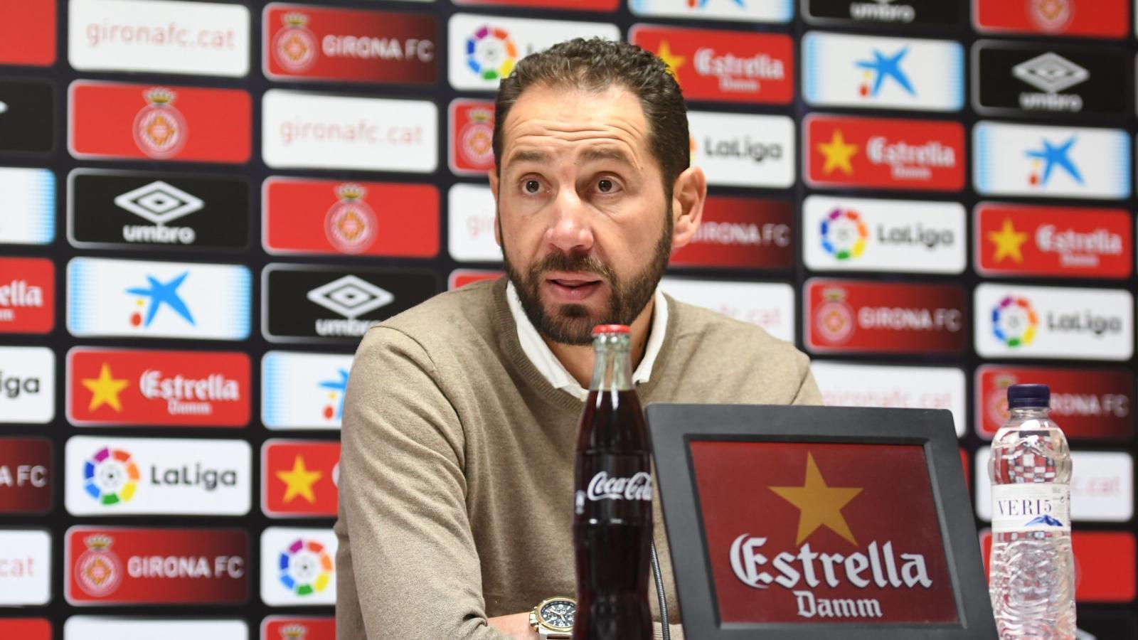 """Pablo Machín: """"Tenim clar quin és el nostre lloc"""""""