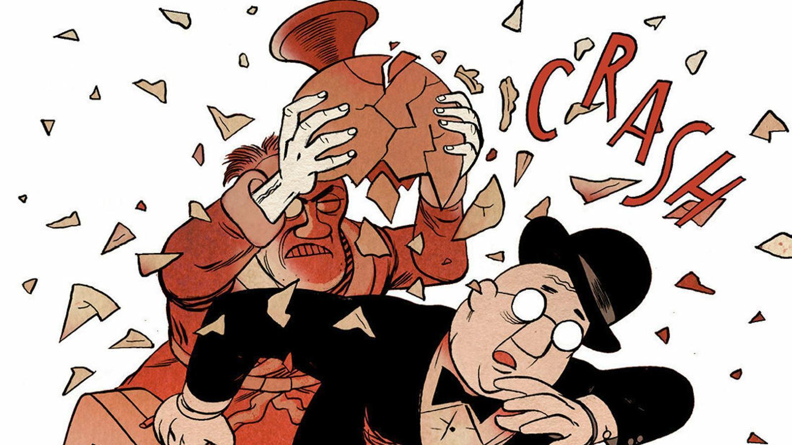 Crítica del còmic 'Inframundo', de Pep Brocal