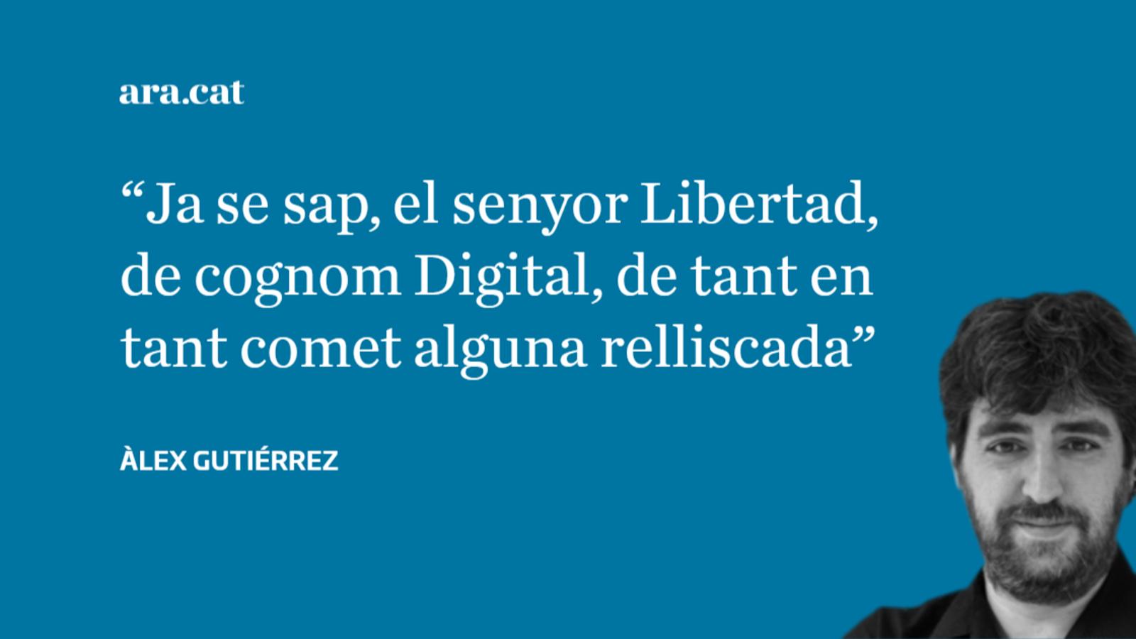 L'entranyable intent de 'Libertad Digital' de denigrar France Press