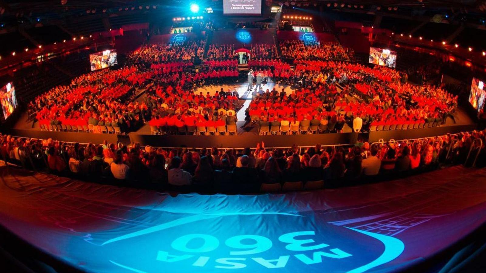 La presentació del programa Masia 360