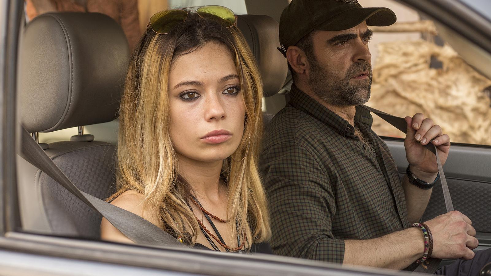 Anna Castillo i Luis Tosar al film 'Adú'