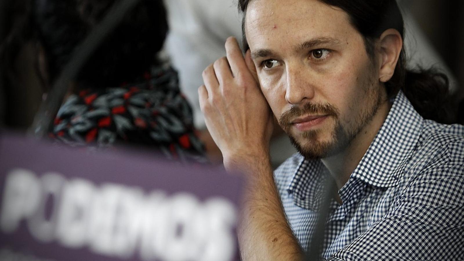 Iglesias diu que va ser Junqueras qui va proposar la trobada a la presó