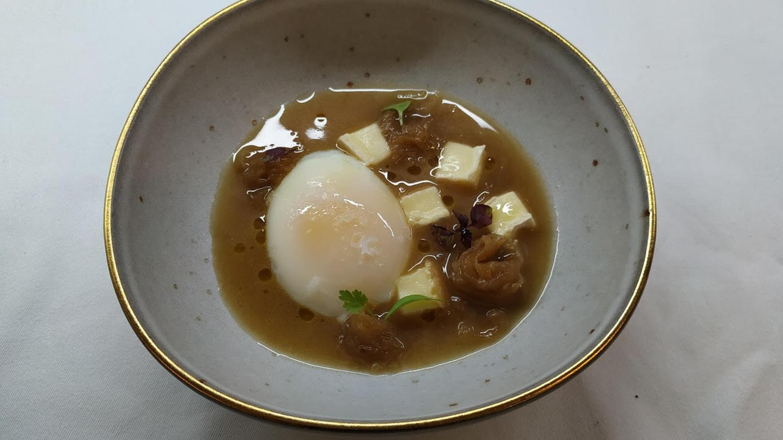 Una altra de les versions de la sopa de ceba