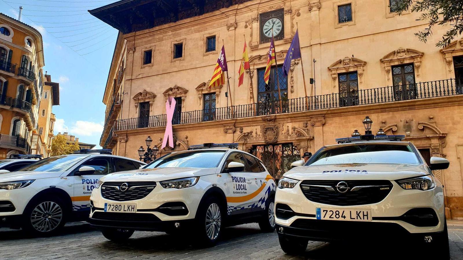 Els nous cotxes patrulla de l'Ajuntament de Palma