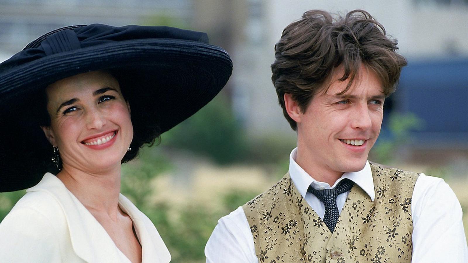Andie MacDowell sortirà a la versió televisiva de  'Quatre bodes i un funeral'