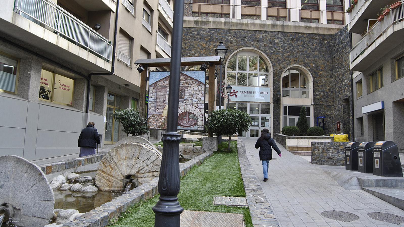 Una imatge del centre esportiu de Sant Julià de Lòria. / ARXIU ANA