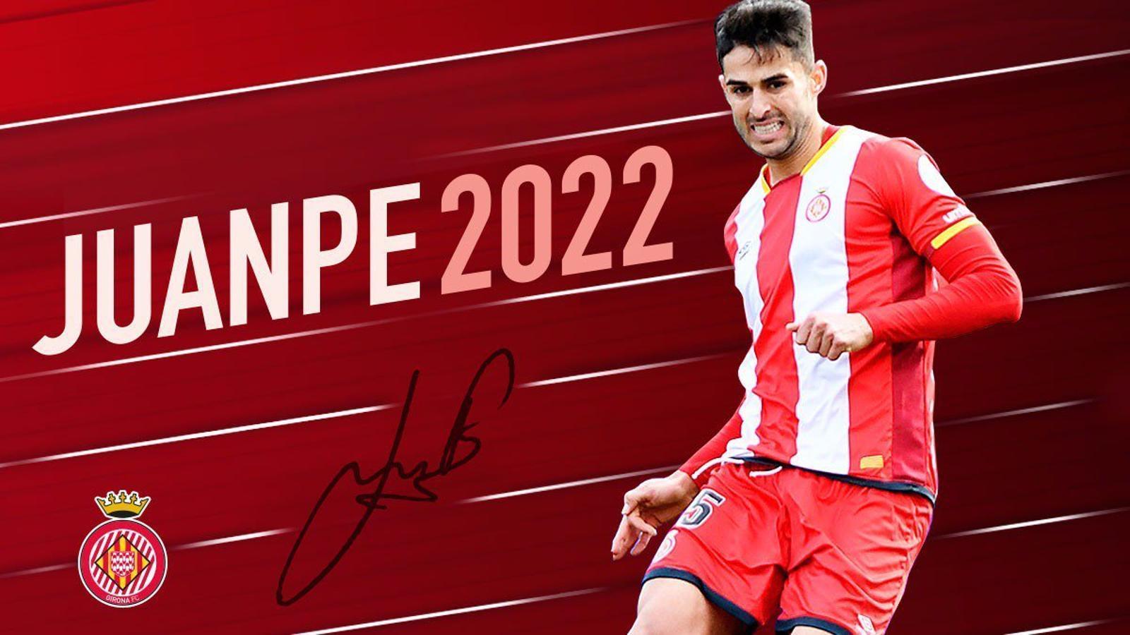 Juanpe Ramírez ha signat fins al 2022