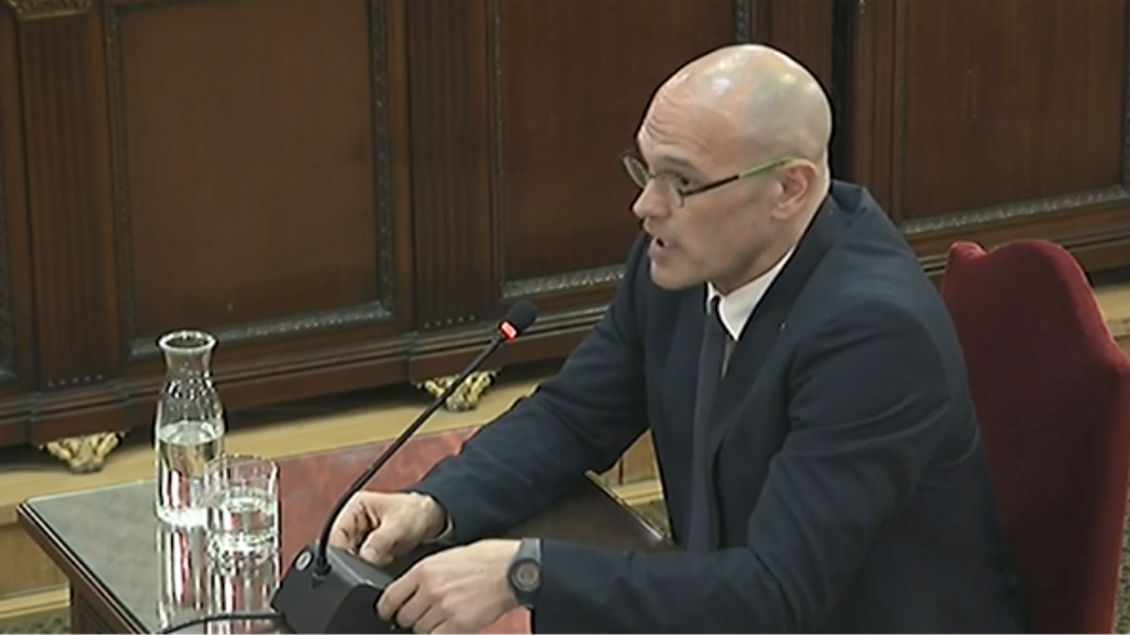 Former MEP Romeva, on trial in Spain: