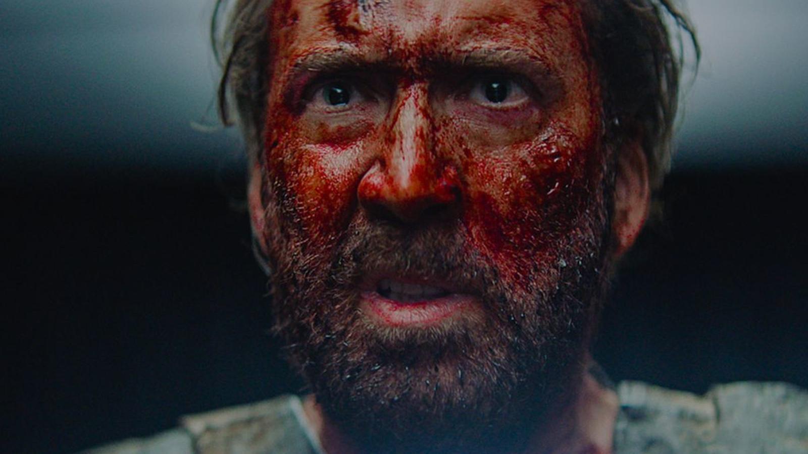 Nicolas Cage a la pel·lícula 'Mandy'