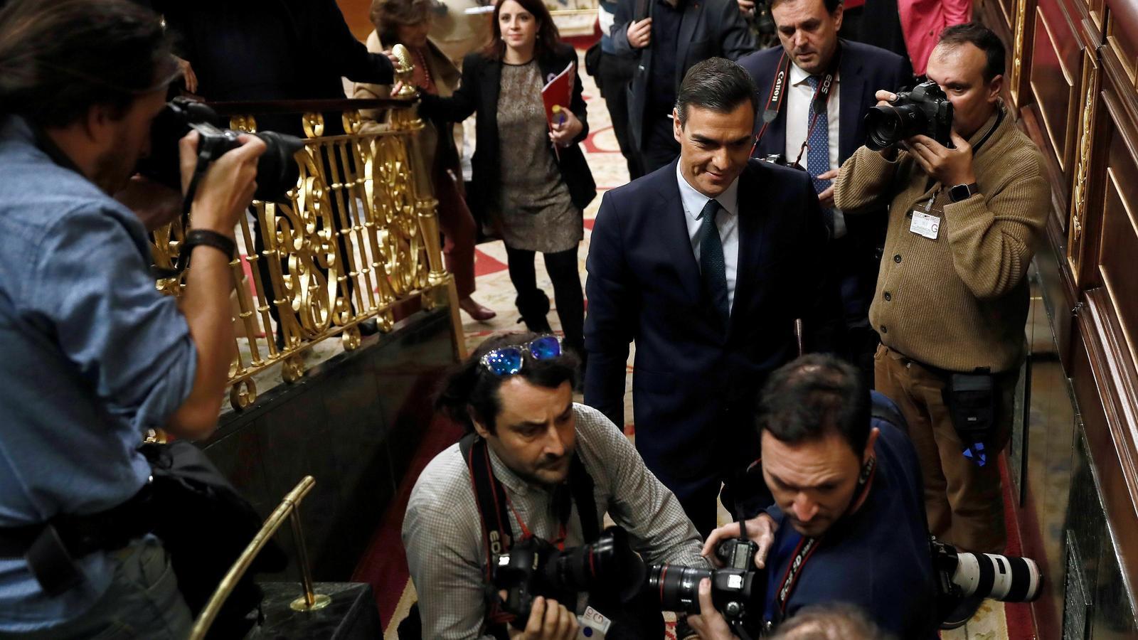 EN DIRECTE: El debat d'investidura de Pedro Sánchez