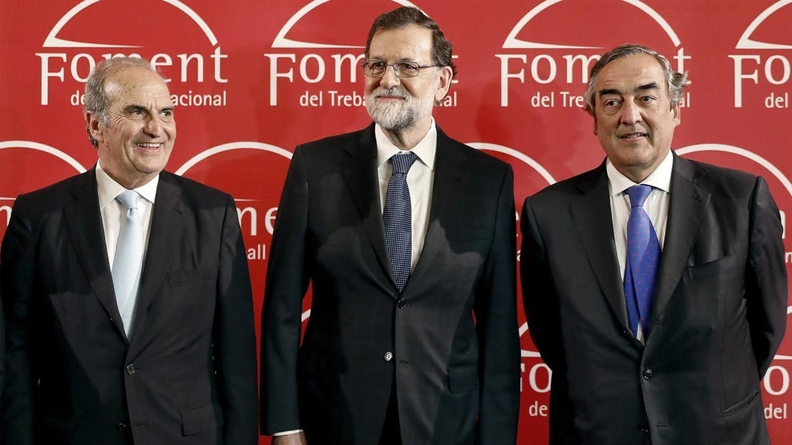 """Rajoy: """"Més enllà del que diguin les urnes, seguiré sent el president de tots"""""""