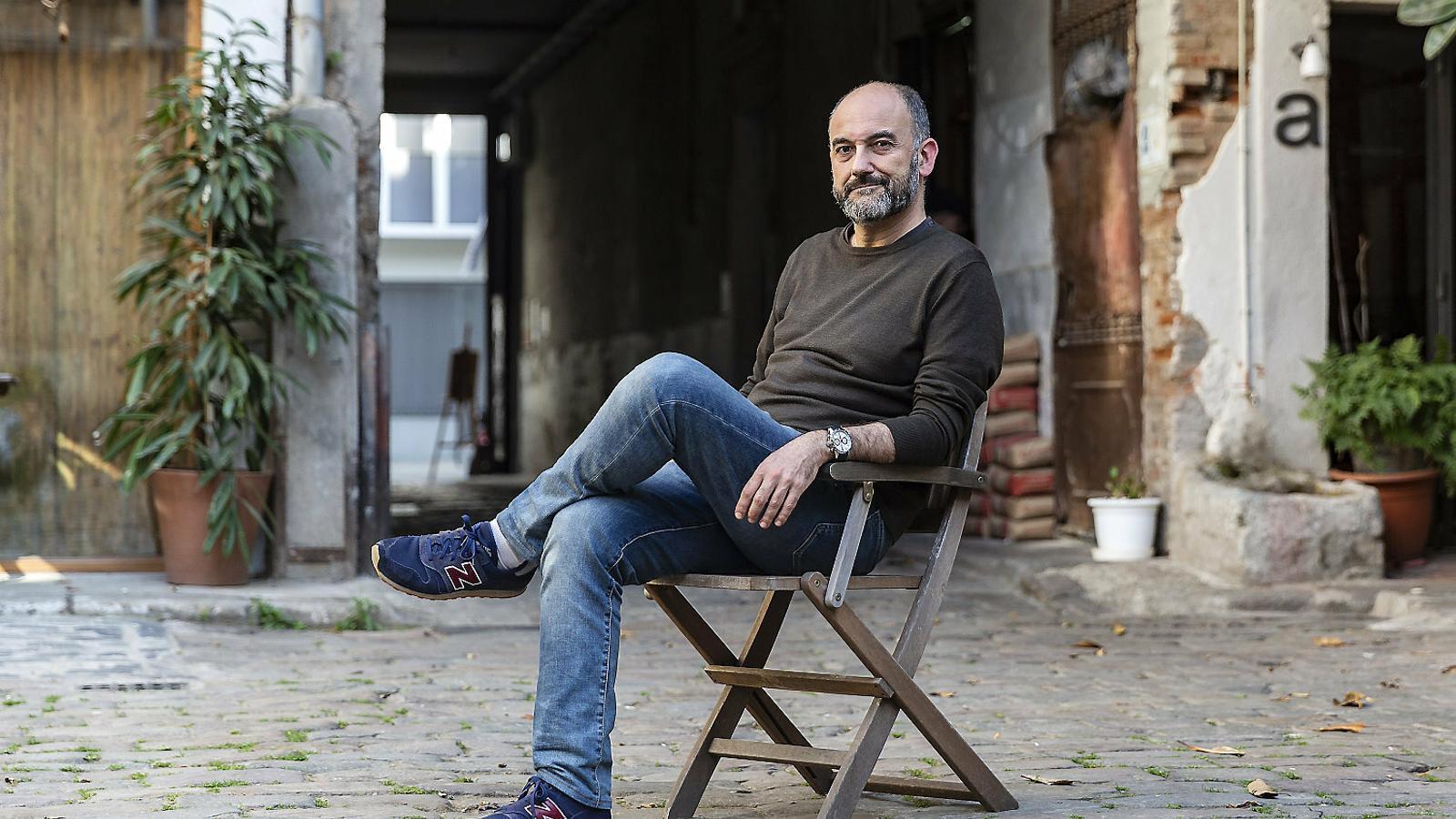 L'il·lustrador lleidatà establert a Barcelona Òscar Sarramia.