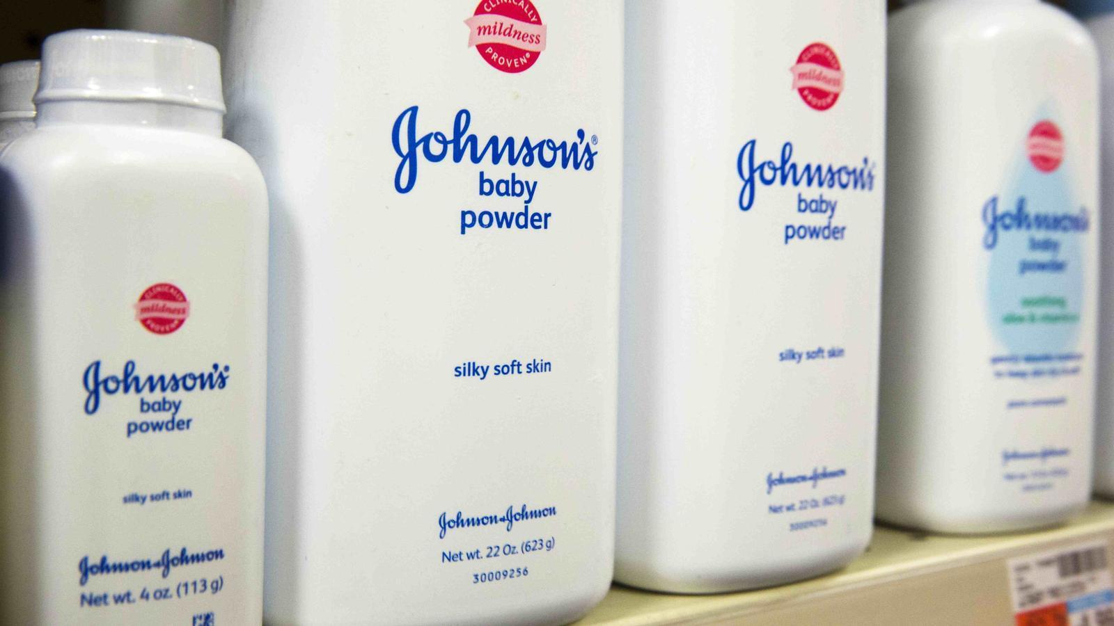 Multa milionària a Johnson & Johnson després que vinculin les seves pólvores de talc a un cas de càncer