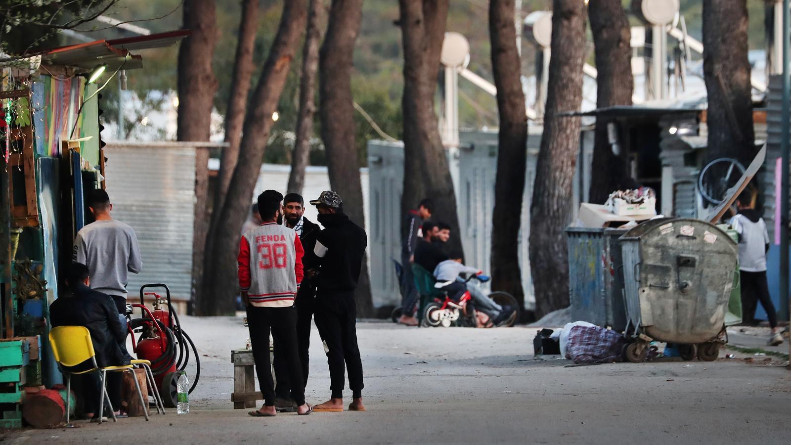Camp de refugiats de Ritsona, a Grècia