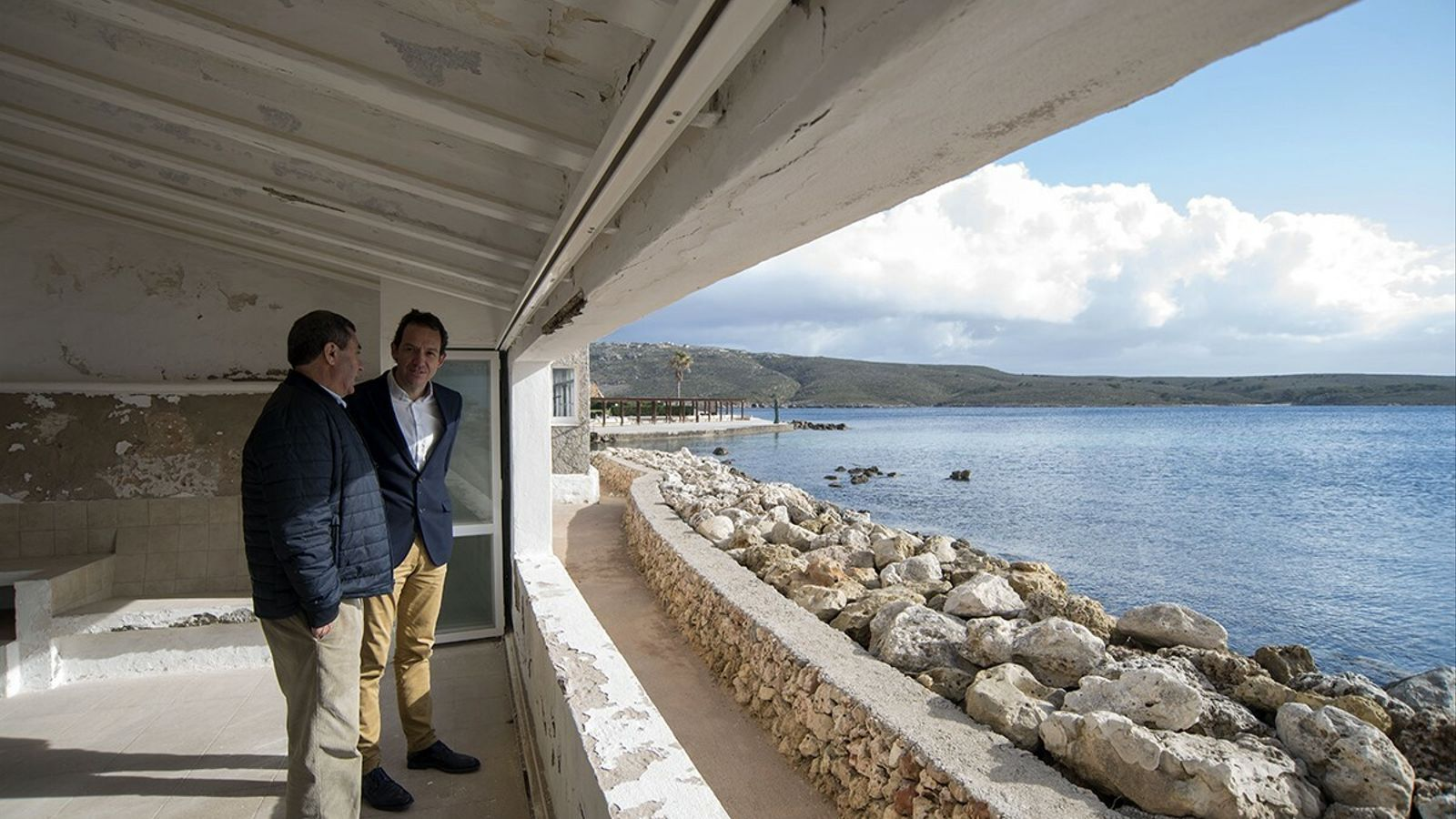 Xisco Ametller i Marc Pons han anunciat la recuperació dels habitatges que passen en mans de Ports IB.