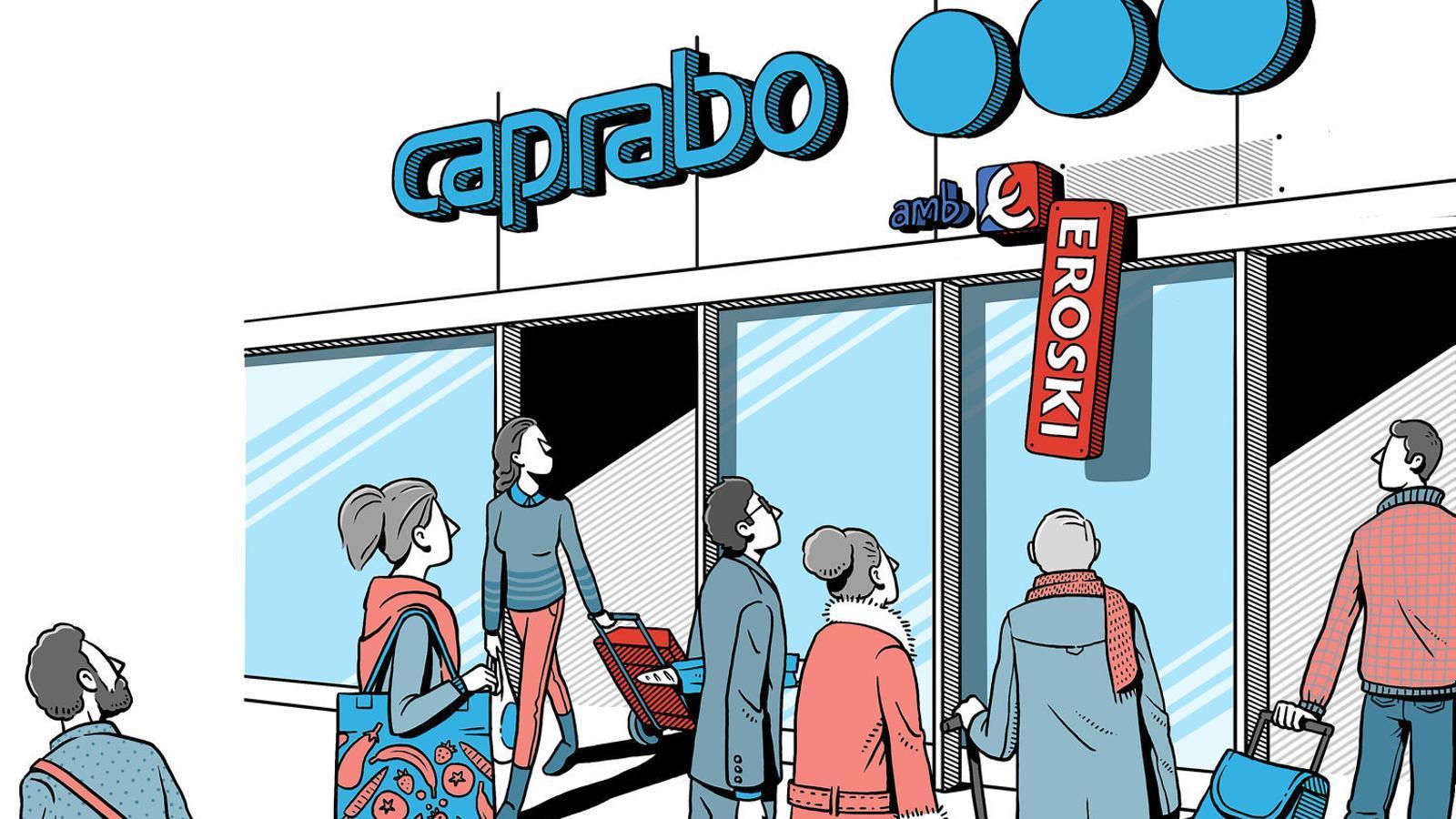 """Caprabo: de ser l'""""enveja de tothom"""" a la possible venda"""