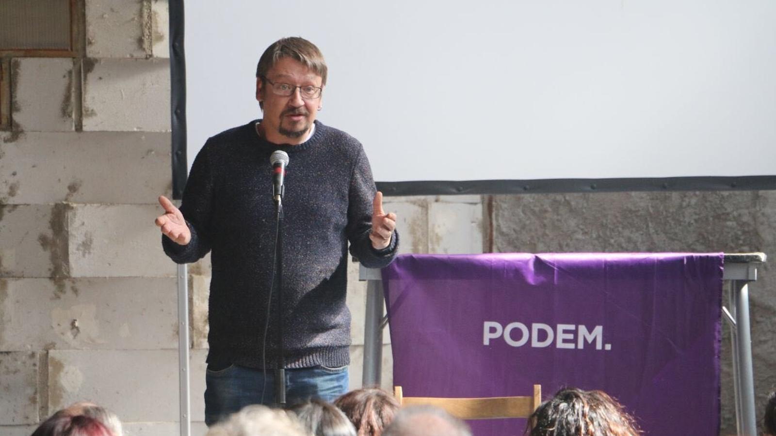 Militants de Podem Catalunya porten les primàries als tribunals