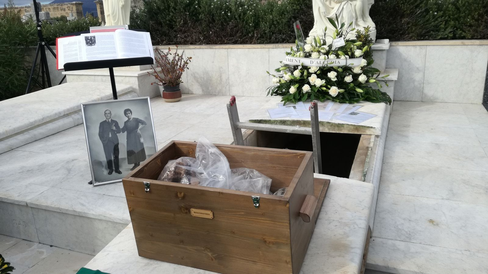 Alcúdia ha donat el darrer adéu a Mariano Galiana Galiana